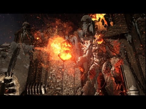 PlayStation 4 Elemental Unreal Engine 4 Demo