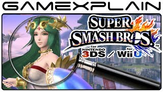Super Smash Bros Analysis – Palutena Reveal Trailer (Secrets & Hidden Details)