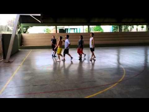 Turma do Basquete Jogando em Ariquemes — Quadra do Heitor - 24/11/2012