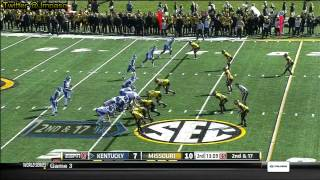 Sheldon Richardson vs Kentucky (2012)