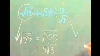 คณิตศาสตร์ ระดับ มัธยมศึกษา ข้อ 1