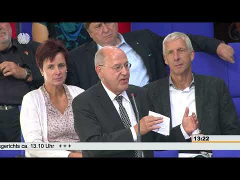 Gregor Gysi (DIE LINKE): Norbert Lammert hat Demokratie ...