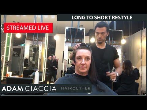 Hair cutting - Cutting Dana's Hair Short!