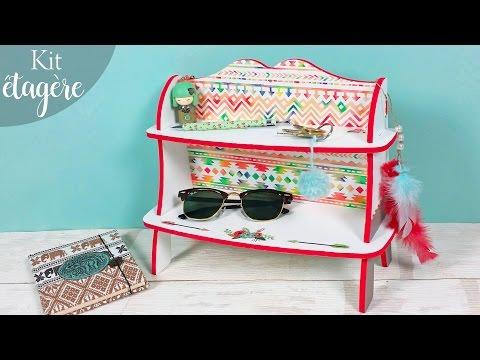 DIY - Tutoriel pour monter une petite étagère en bois ! A décorer et à poser chez vous !