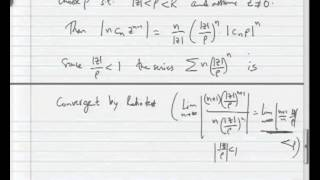 Mod-04 Lec-02 Analyticity Of Power Series