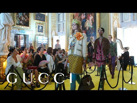 Gucci Cruise 2018 Fashion Show