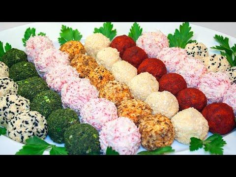 сырные шарики закуска рецепт с фото пошагово