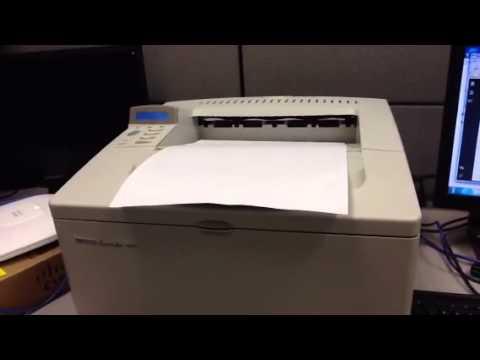 HP laser jet 5000 11x17 printing