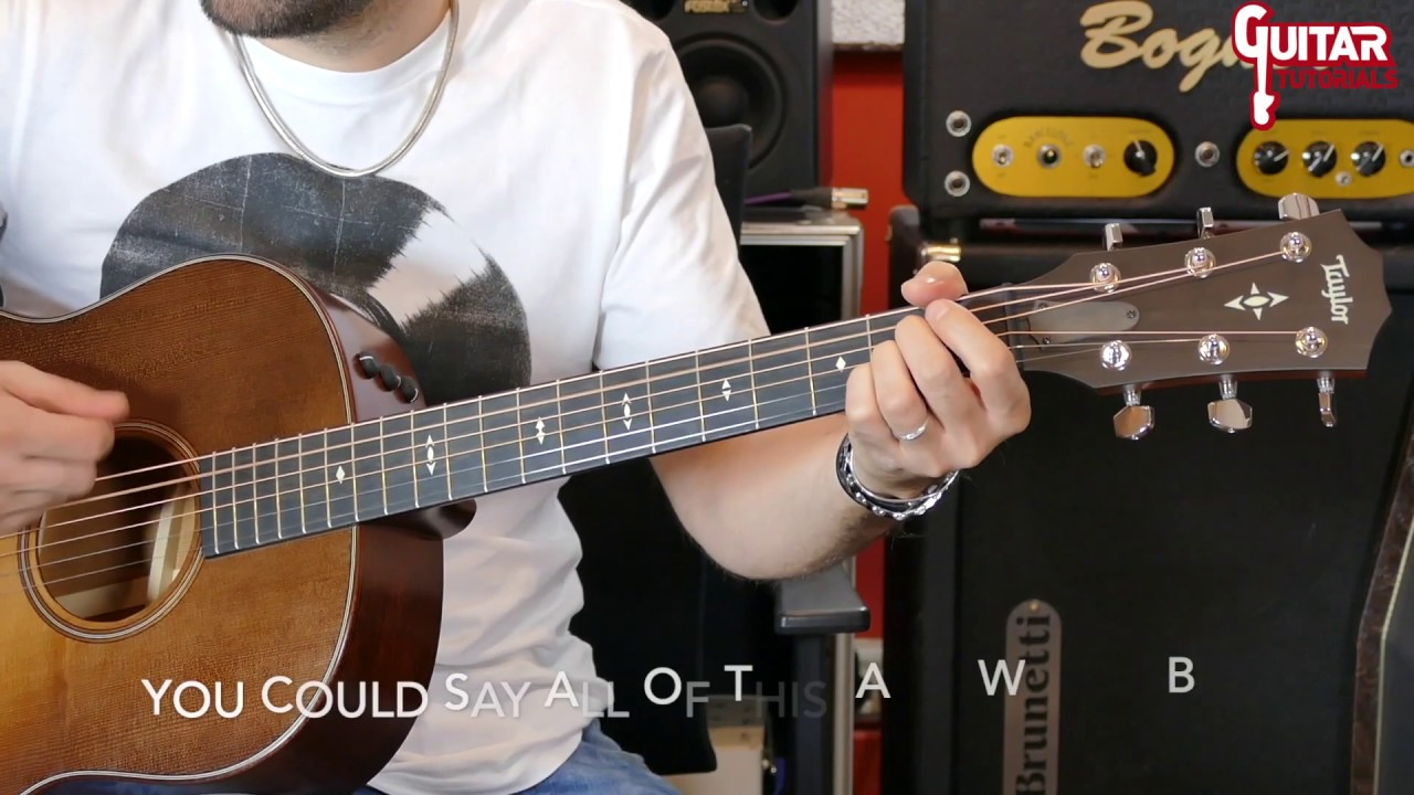 If I Ever Lose My Faith In You (Sting) – Acoustic Guitar Tutorial   AcoustHit Series  