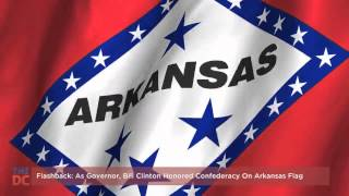 Clinton (AR) United States  City pictures : As Governor, Bill Clinton Honored Confederacy on Arkansas Flag