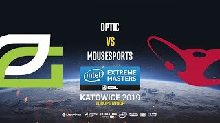 OpTic vs mousesports - IEM Katowice EU Minor - map1 - de_train [SSW & CrystalMay]