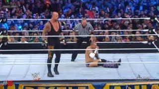 WWE Wrestlemania 29 - Undertaker vs CM Punk Match ( WWE 13 )