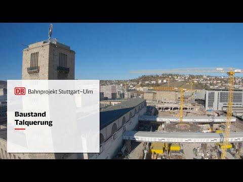 Baufortschritt Hauptbahnhof – S21