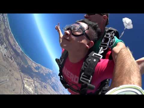 My tandem skydiving experience at Margaret River, Western Australia
