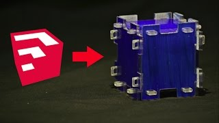 Using Sketcup to design an interlocking box, then cutting it on the Arduino CNC.     You'll need the plugin below in order to turn your sketchup model into SVG format (Scalable Vector Graphics), then used makercam to load the file onto Easel.Flight of ideas SVG plugin:  https://github.com/JoakimSoderberg/sketchup-svg-outline-pluginHow I built the Arduino CNC:https://www.youtube.com/playlist?list=PL5XWdvlE3dBse8w8gQvMbzhHKSbs1676WINSTAGRAM ME! :https://www.instagram.com/absorberoflight/