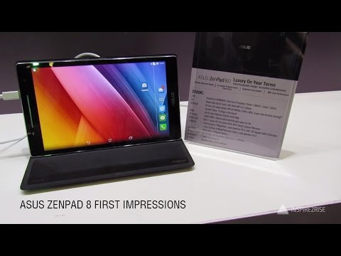 ASUS Zenpad 8 review initial impressions, hands on