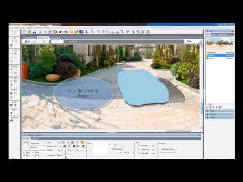 Virtual Tour software - Tourweaver --How to add Polygonal Hotspot