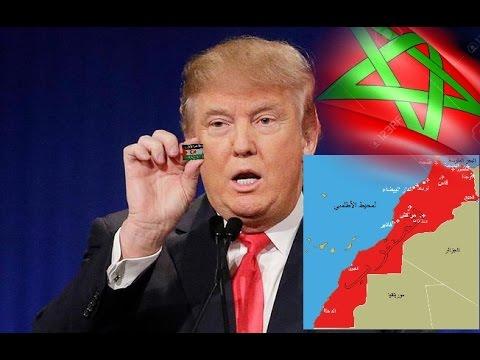 عــــاجــل.. لن تصدّق ما قاله ترامب عن المغرب وعن قضية الصحراء المغربية..!!