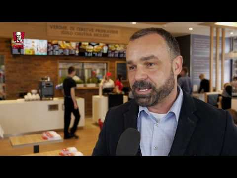 Otevření prodejny KFC ve Zlíně - podnikatelský express