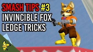 Fox's Invincible Ledge Tricks – SSBM Tutorials (x-post r/ssbm)