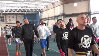 Entrenamiento conjunto federaciones de boxeo del País Vasco, Aragón y La Rioja en el CEAP de Soria