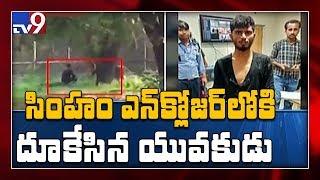Bihar man jumps inside lion enclosure in Delhi zoo; escapes unhurt