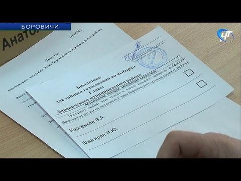 Игорь Швагирев избран главой Боровичского района