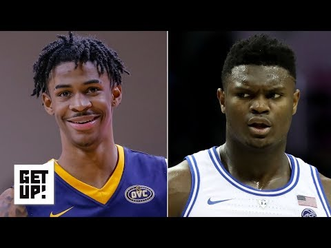 Ja Morant's game may transfer to the NBA better than Zion Williamson's - Jay Williams | Get Up!