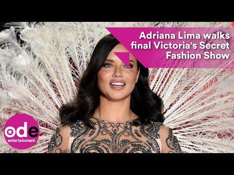 Adriana Lima walks final Victoria's Secret Fashion Show