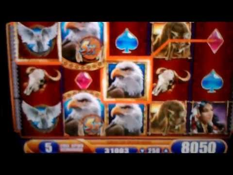 Great Eagle Returns Slot MAX BET BIG WIN! Video 3 of 3.. Treasure Island Resort and Casino MN