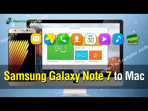 How to Backup Contents from Galaxy Note 7 to Mac in One Click