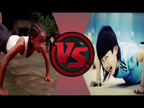 Taekwondo Qiunan Vs Karate Smith - Talent Kids