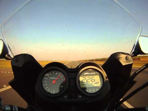 Top Speed Bandit 650 S 250 km/h 1/2