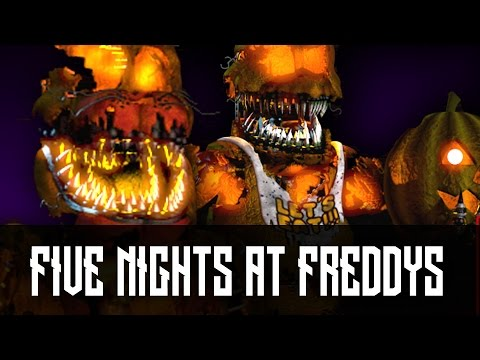 Five Nights at Freddys Walkthrough - NIGHTMARE MODE! (Night 7 ...