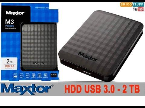 Disque dur externe noir HDD 2.5