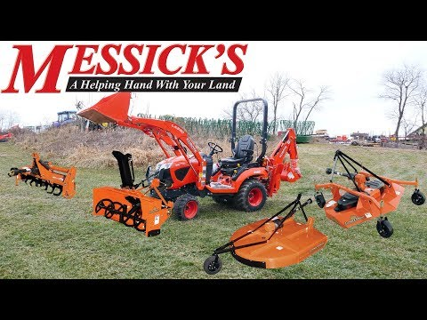 5 Most Common: Compact Tractor Attachments