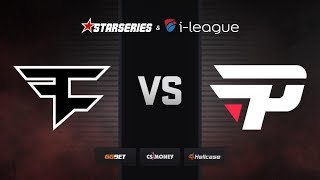 [RU] FaZe vs paiN | Map 2 – Mirage | StarSeries i-League Season 7