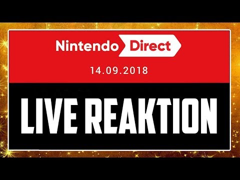 🔴 NINTENDO DIRECT 14.09.2018 (Luigis Mansion 3 & Animal Crossing Reveal) 🎇 Domtendos Live Reaktion