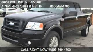 2006 Ford F150 FX4 SuperCab - for sale in Clinton, TN 37716