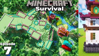 Minecraft 1.16 Survival : Planning my New Fantasy Castle! #1