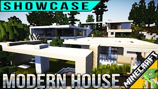 Minecraft Modern House Showcase from UTB - ft. GodCrafterUK
