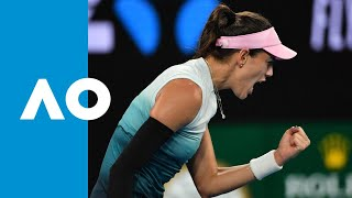 Garbine Muguruza strong enough to overcome Timea Bacsinsky in 3R| Australian Open 2019