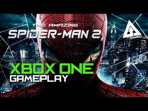 the amazing spider man 2 xbox one gameplay