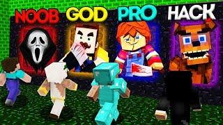 Video Minecraft Battle: NOOB vs PRO vs HACKER vs GOD: SCARY PORTAL CHALLENGE 3 / Animation MP3, 3GP, MP4, WEBM, AVI, FLV Juni 2019
