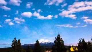 Mount Shasta Milky Way Timelapse