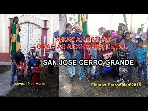 San José Cerro Grande 2015 Show Artístico