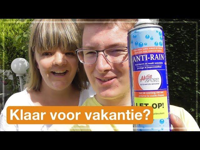 Klaar voor vakantie? | Texel 2017 (#1)