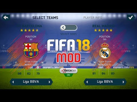 FIFA 18 Ultra Edition | FIFA 14 V10 MOD | Android | Unlocked - Squad Update