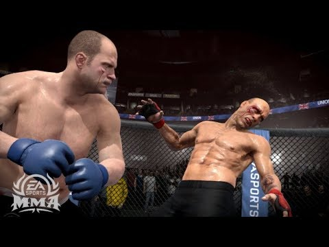 UFC 14 Multiplayer Online Fight! (EA Sports UFC Xbox One Gameplay)