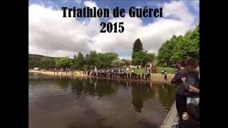 Gueret France  City pictures : Triathlon sprint de Guéret 2015, demi-finale Championnat de France Jeunes